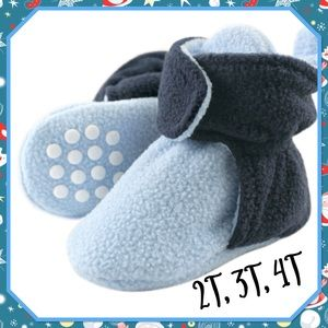 🐟New🐟Toddler Fleece Scooties ( non slip sole)🐟
